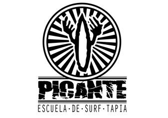 Picante escuela de surf Tapia
